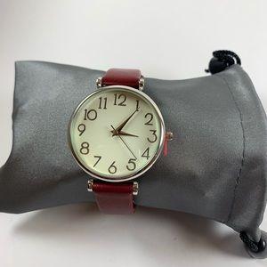 Fashion Forward Red Watch
